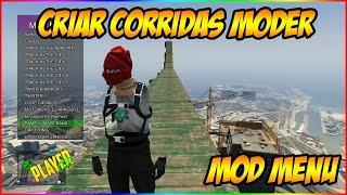 GTA V ONLINE - NOVO MOD MENU # PARTE 3 COMO CRIAR CORRIDAS MODER!! XBOX 360 1.27