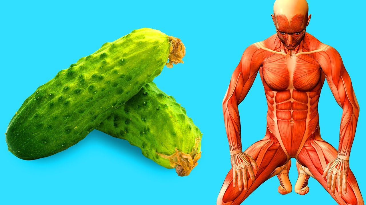 Start Eating a Cucumber a Day, See What Happens to Your Body