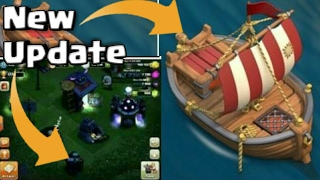 Clash of Clans Update Leak- Night Mode and Shipwreck Confirmed | Huge Update