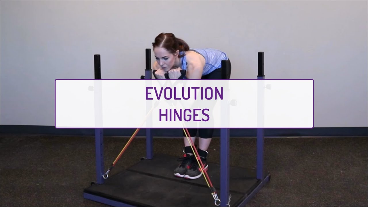 Home Exercises | Evolution Hinges | Strength | Glutes & Legs