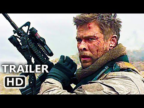 12 STRΟNG Official Full online (2018) Chris Hemsworth, Action Movie HD