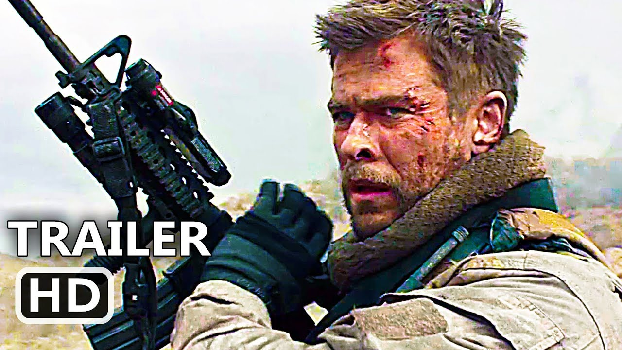 12 str ng official trailer 2018 chris hemsworth action movie hd youtube. Black Bedroom Furniture Sets. Home Design Ideas