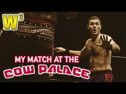 My Match at the Cow Palace! | Wrestling With Wregret