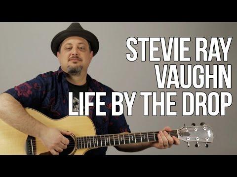 Stevie Ray Vaughan Acoustic Blues Life  the Drop Song Chords Rhythm
