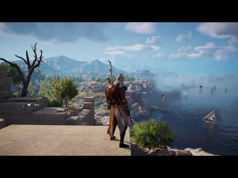Assassins Creed Origins No HUD Exploration First Playthrough