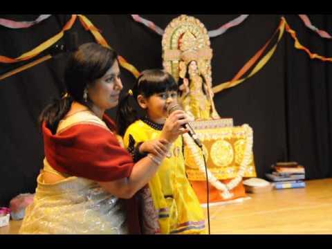 Jhinuk's song - Parichoy Saraswati Pooja 2014