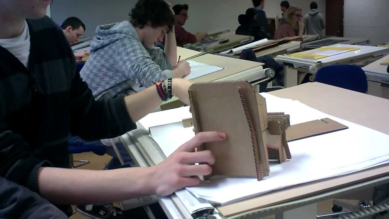 Cardboard prototype industrial design 2 youtube for Product design prototype