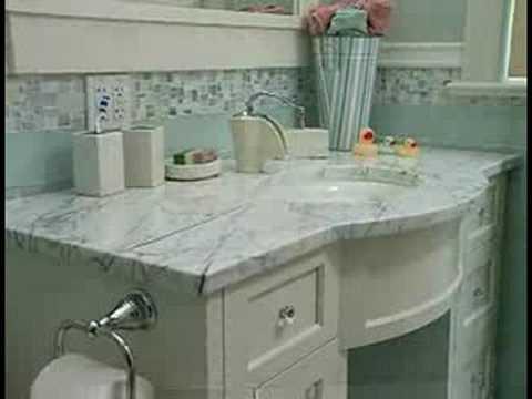Kohler Bathrooms - Tile in the Master and Kids' Bathrooms