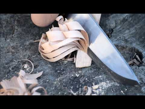 A bushcraft knife from Backwood knives/WV Outdoors.