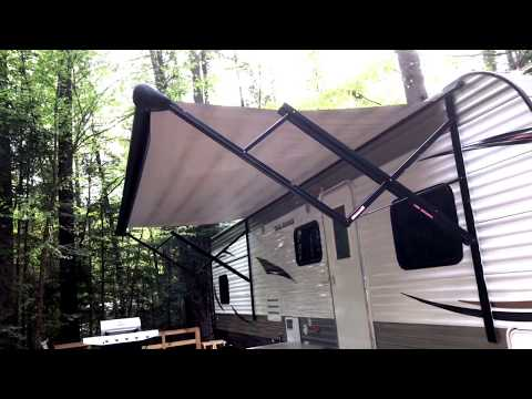 How To Clean Dirt and Mildew Off of Your RV Awning
