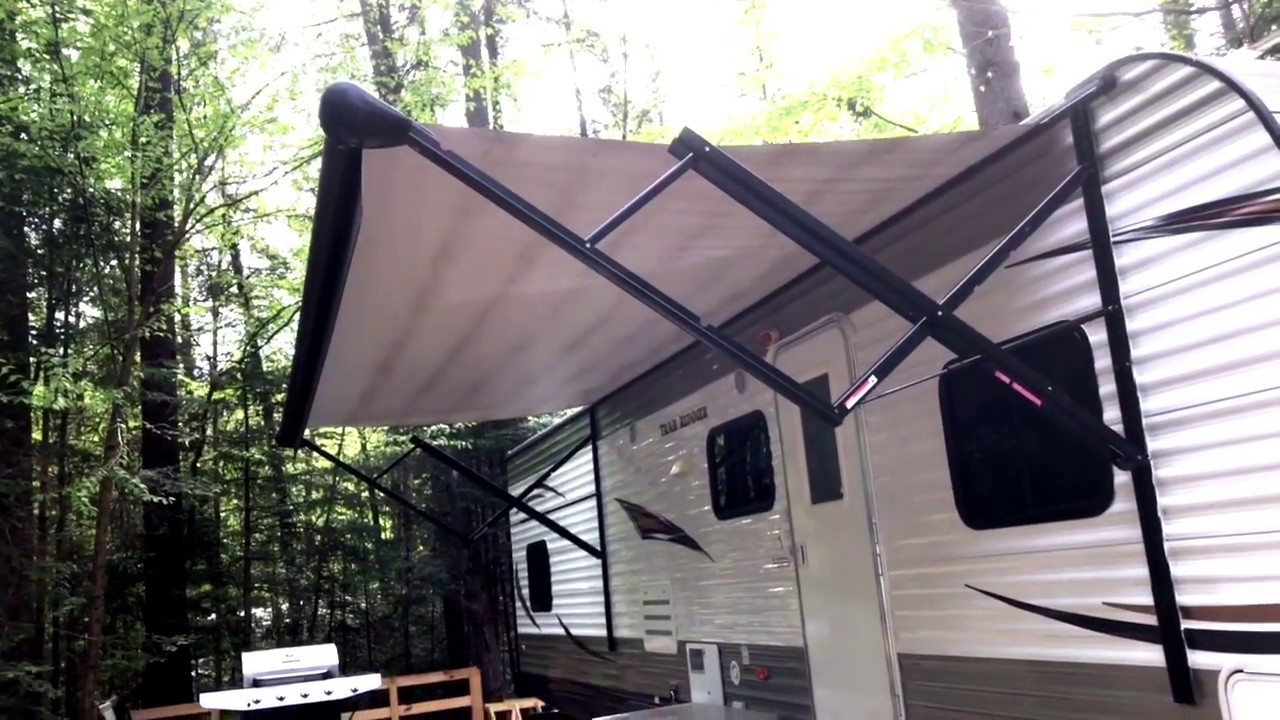 How To Clean Dirt And Mildew Off Of Your Rv Awning Youtube