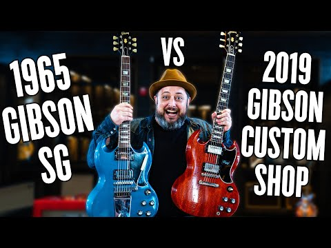 Are Vintage Guitars Worth It? Gibson SG Custom Shop Vs. Original