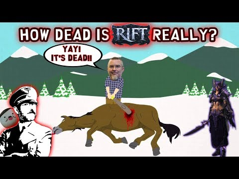 How dead is RIFT really?!? (Beating a dead horse)! | Trion Worlds' RIFT - Free to Play MMORPG 2017