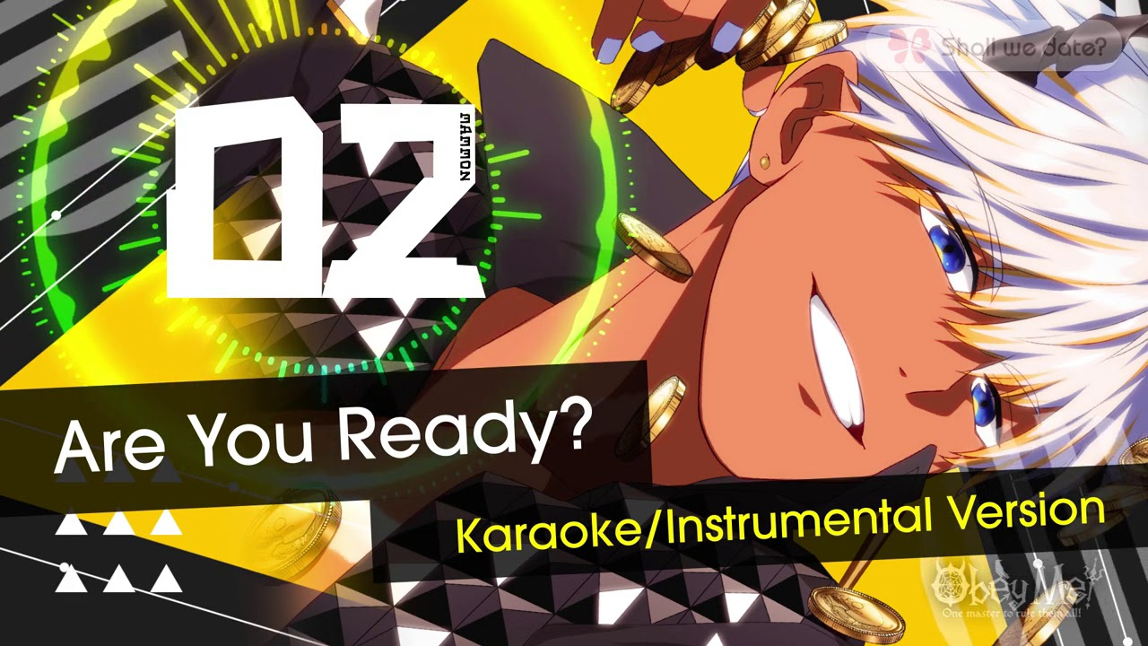 """Download Obey Me! - #02 Mammon """"Are You Ready?"""" Instrumental -"""