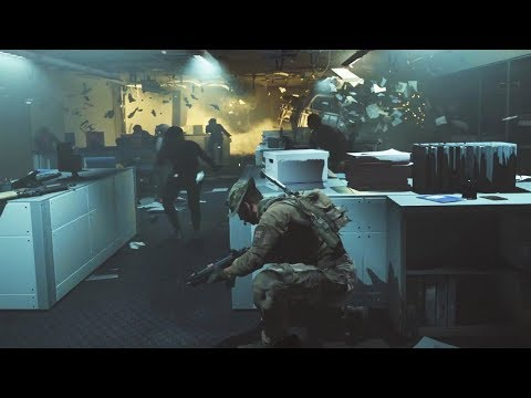 US Embassy Siege - Call Of Duty Modern Warfare