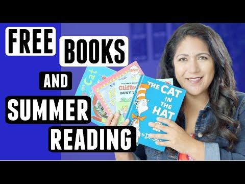 Get Free Books & Summer Reading Programs For Kids