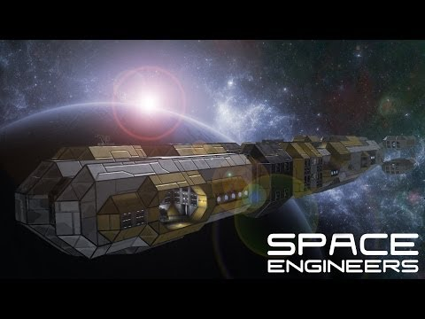 Deep Space Exploration Ship - SPACE ENGINEERS -