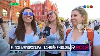 Los argentinos en Rusia también se preocupan por el dólar - El Noticiero de la Gente