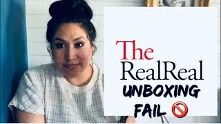 THE REAL REAL FAIL / PSA UNBOXING A FAKE