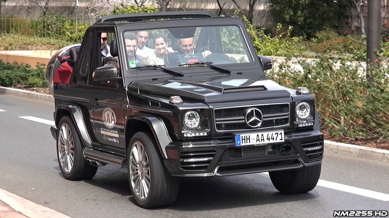 700hp mansory mercedes g500 v8 sound loudest g class i for Mercedes benz g class cabriolet