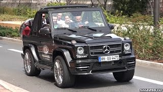 700HP Mansory Mercedes G500 V8 SOUND - Loudest G-Class I