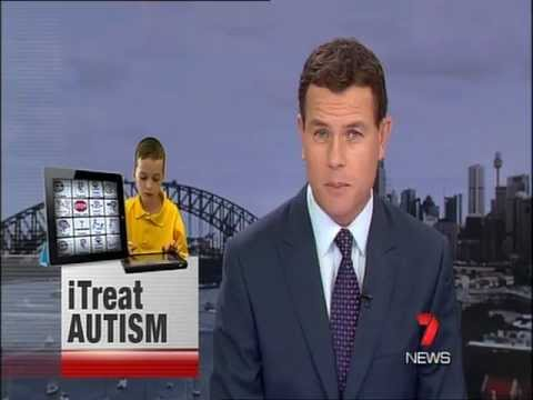 7 News - iTreat autism iPad - Autism Spectrum Australia research