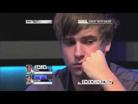 Viktor Blom big river Bet and smile at the PCA High roller