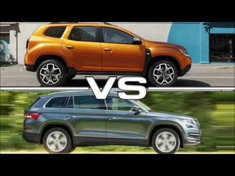 New Skoda Kodiaq Vs New Dacia Duster Youtube