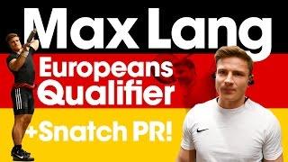 "Video Max Lang Europeans Qualifier with 154kg Snatch PR! (with Subtitles, Press ""CC"" Button) download MP3, 3GP, MP4, WEBM, AVI, FLV September 2017"