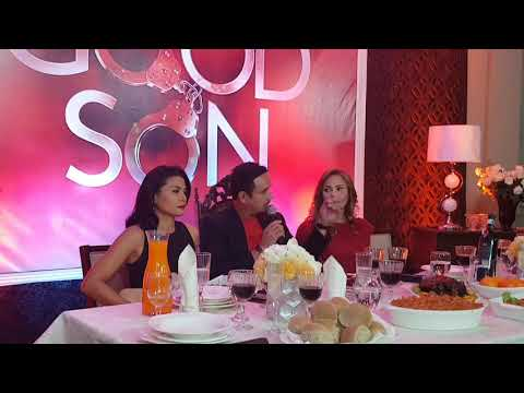 Mylene Dizon, John Estrada and Eula Valdez at The Good Son Presscon