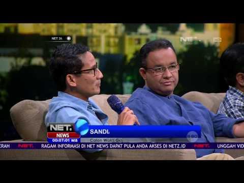 Kedua Paslon Pemimpin DKI Beradu Kebolehan di Jakarta Kece - NET24