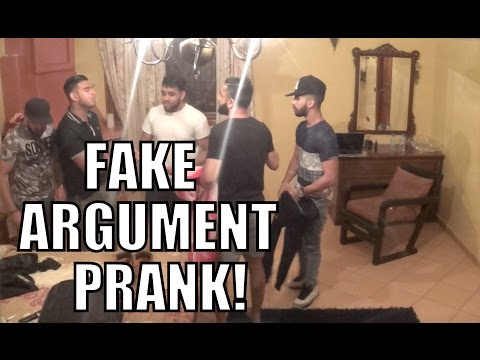 FAKE ARGUMENT PRANK IN MOROCCO!