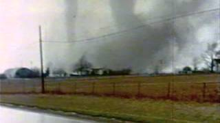 Muncie, IN & Xenia, OH  tornado movies from the April 3, 1974  Super Outbreak (silent)