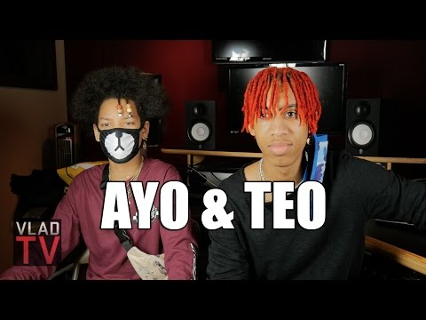 Ayo & Teo on Dancing with Chris Brown, Teaching Usher Dance Moves