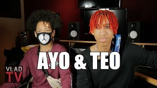 Ayo & Teo on Dancing with Chris Brown, Teaching Usher Dance Moves