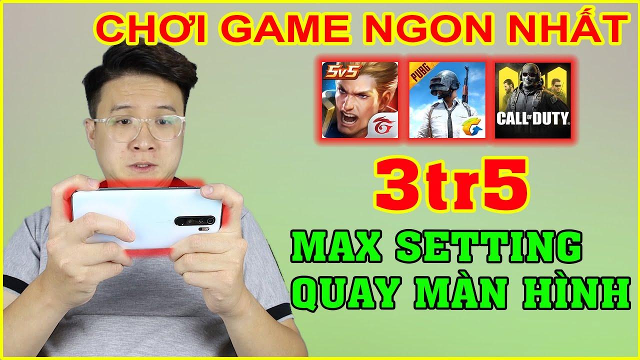 3tr5 CHƠI GAME NGON NHẤT!! Test Game Xiaomi Redmi Note 8 Pro chip Mediatek G90T | MUA HÀNG ONLINE