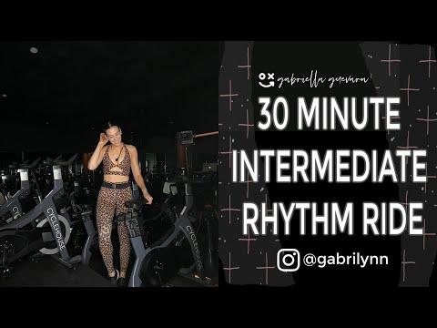30 Minute Spin Class Intermediate Dance Ride