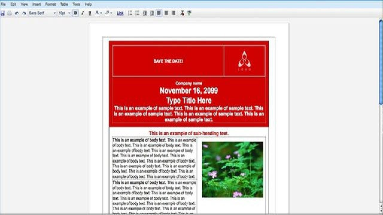 How To Create An Event Flyer With Google Docs