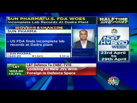 US FDA Finds Incomplete Lab Records For Sun Pharma's Dadra Unit