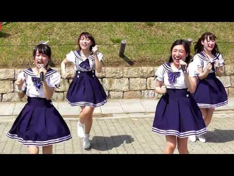 京都女子大学 Cotton Candy 「言い訳Maybe」を踊ってみた 城天アイドルストリートVol.16