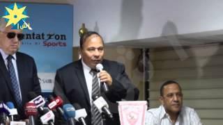 بالفيديو: أبو السعود يشكر الزمالك على استضافة تدريبات الدراويش في فترة التهجير