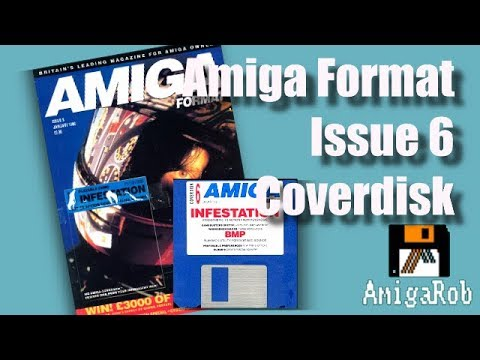 Let's Play: Amiga Format Coverdisk 6 (with ADT extra free!!!!)