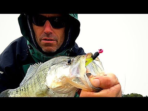 OCTOBER COLD FRONT CRAPPIE FISHING (2020) Catching Crappie Slow Trolling A Jig