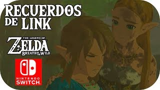 ¡TODOS los RECUERDOS de #Link! | 🌲 ZELDA: Breath Of The Wild 🌲