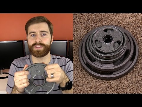 Weider Olympic Hammertone 210 Lb Weight Set Review!