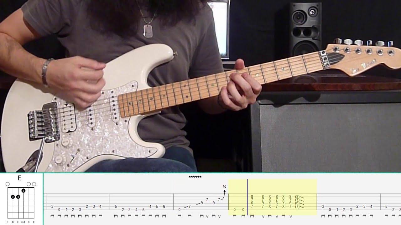 Jimi Hendrix - Hey Joe (Guitar Tutorial) - YouTube