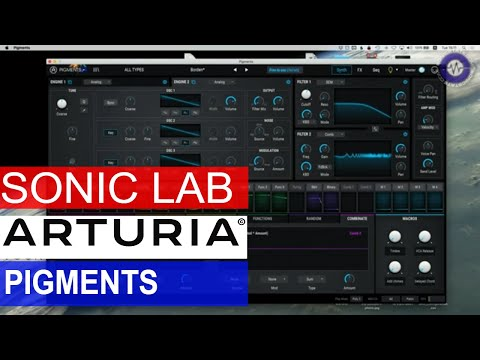 Sonic LAB: Arturia Pigments Wavetable Synth : synthesizers
