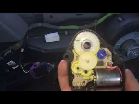 Rear (auxiliary) heat and A/C actuator overview/repair for Yukon, Tahoe, Suburban, and Escalade