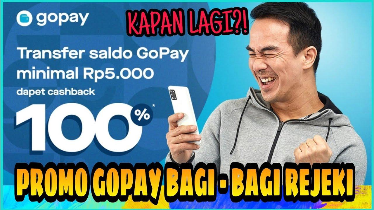 Promo Gopay Cashback 100 Berbagi Rejeki Pasti Untung Event September 2020 Youtube