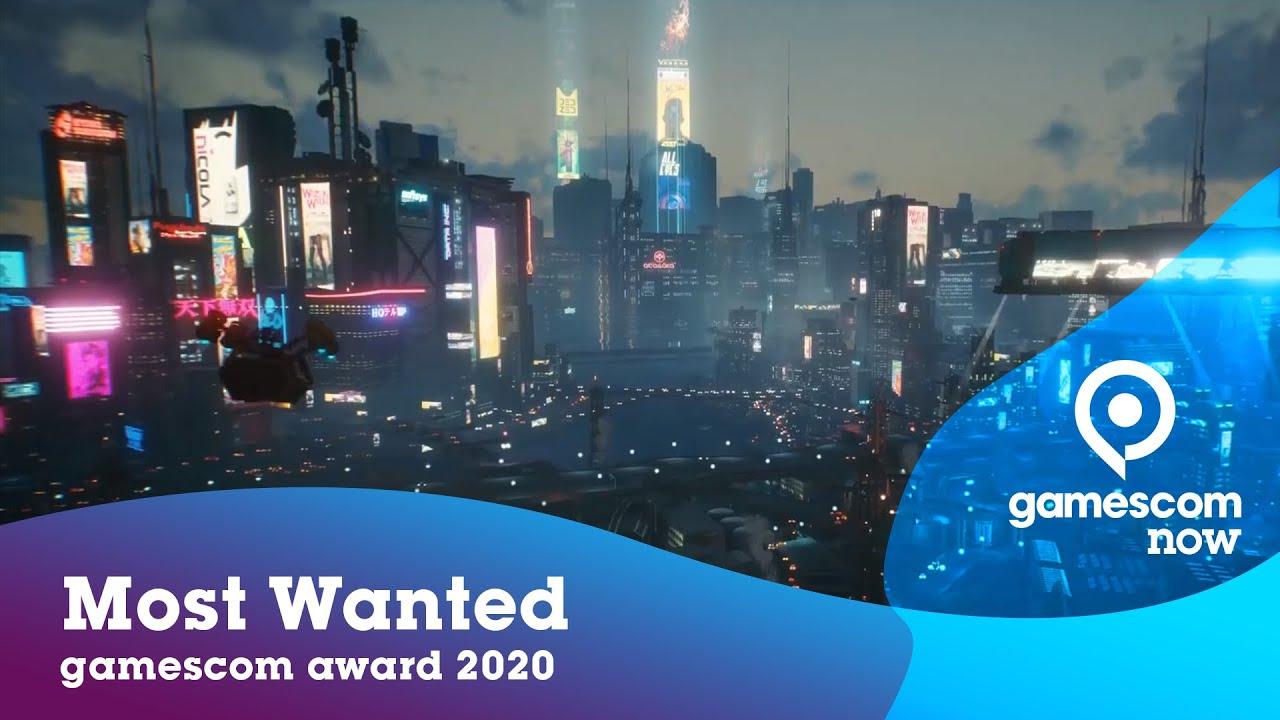 gamescom award 2020 | Most Wanted: Cyberpunk 2077 | #gamescom2020 | EN